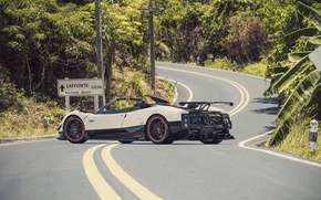 Картинка Roadster, Pagani, Zonda, Суперкар, Road, Supercar, Пагани, Зонда, Cinque
