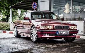 Обои BMW, Бумер, БМВ, 750li, E38