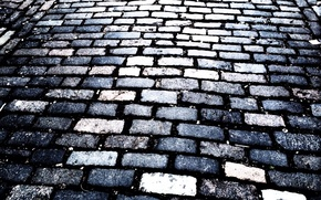 Картинка дорога, камень, брусчатка, покрытие