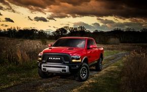 Картинка Ford, форд, Rebel, 2015, Ram 1500