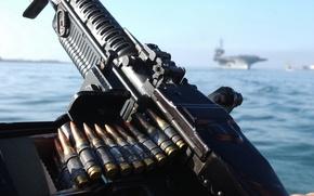 Картинка американский, пулемёт, прозвище «Свинья», M60
