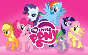 Обои My Little Pony, MLP, Friend is Magic