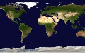 Обои мир, карта, материки, география, географическая