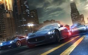 Картинка город, гонки, автомобили, онлайн, The Crew