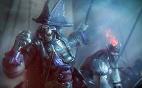 Обои sword, pirate, living dead, skeleton