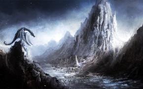 Картинка Скайрим, The elder scrolls V Skyrim, Старинные свитки, TES