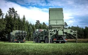 Картинка система, противовоздушной, обороны, ПВО, базирования, наземного, MEADS
