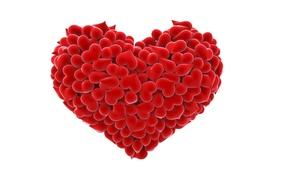 Картинка праздник, сердце, арт, День Святого Валентина