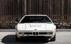 Картинка BMW, white, supercar, sportcar