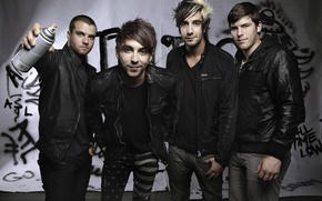 Картинка Pop Punk, Zack Merrick, All Time Low, Jack Barakat, Rian Dawson, Alex Gaskarth