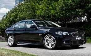 Картинка седан, Sedan, F10, BMW, бмв
