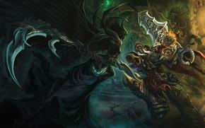 Картинка воин, демоны, Darksiders, The fourth seal is broken