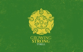 Картинка golden, rose, A Song of Ice and Fire, Game of Thrones, House Tyrell, Growing Strong