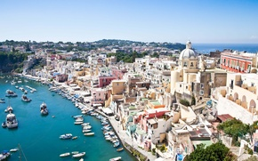 Картинка Italy, Campania, Procida, Napoli district