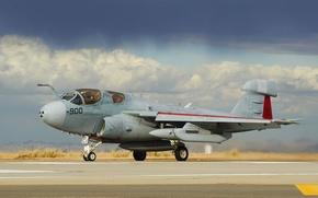 Картинка небо, самолёт, Grumman, Prowler, палубный, EA-6B