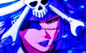 Картинка девушка, лицо, bleach, anime, art, Nelliel Tu, Nelliel Tu Oderschvank