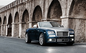 Обои Rolls-Royce, кабриолет, Mansory, даун, роллс-ройс, Dawn