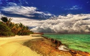Обои за пазухой, у христа, океан, солнце, лето, как