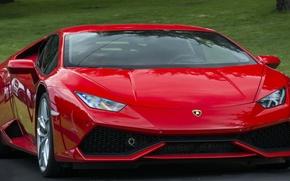 Картинка Lamborghini, red, Huracán