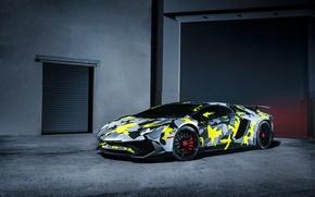 Картинка Lamborghini, Italy, Front, Aventador, Supercar, Custom, LP-750-4