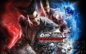 Картинка namco, Tekken Tag Tournament 2, Хэйхати Мисима, Пол Феникс