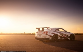 Обои свет, speedhunters, NISMO-GT, The World's Fastest Drift Car, Nissan, машина