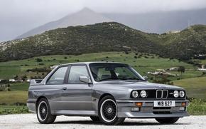 Картинка Ретро, BMW, Серый, Автомобиль, 1989, Roberto Ravaglia Edition