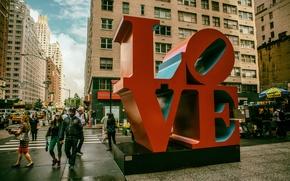 Обои Love, Manhattan, NYC, New York City