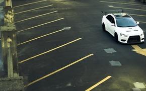 Картинка cars, auto, evolution, wallpapers, cars walls, mitsubishi lancer, обои авто, tuning cars, mitsubishi lancer evolution