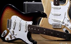 Обои гитары, стратокастер, фендер
