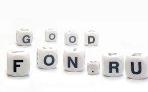 Картинка буквы, кубики, goodfon