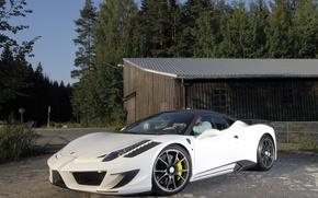 Картинка авто, тюнинг, Ferrari, 458, Mansory, мансори, Siracusa