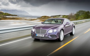Обои Continental, Bentley, 2015, бентли, континенталь