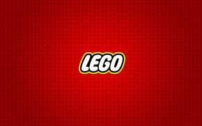 Обои логотип, конструктор, lego