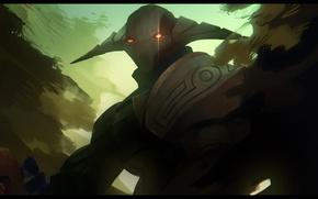 Картинка арт, шлем, рыцарь, Dota 2, Sven, Rogue Knight, VictorBang
