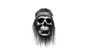 Картинка skull, bones, drawing