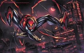 Картинка spider-man, Marvel Comics, Peter Parker, Otto Octavius, superior spider-man