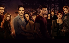 Картинка Jasper, Kristen Stewart, Robert Pattinson, 2011, Girls, Alice, Family, Jackson Rathbone, Taylor Lautner, Ashley Greene, …