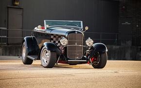Картинка car, Ford, автомобиль, классика, classic, 1932