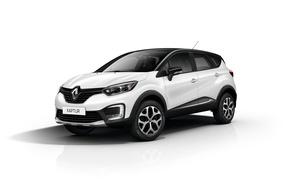 Обои Renault, рено, Captur, каптур, белый фон