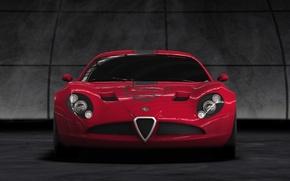 Обои 2010, TZ3, Alfa, Corsa, Romeo, Перед