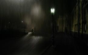 Картинка рисунок, Черный, фонарь