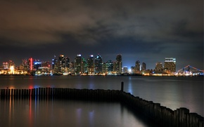 Картинка city, город, Калифорния, USA, США, California, San Diego, Сан Диего