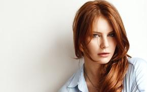 Картинка Girl, Model, Photo, Redhead, Viktoria, Hear