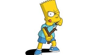 Картинка look, The Simpsons, Bat
