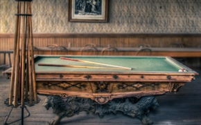 Картинка vintage, billiards, old, pool