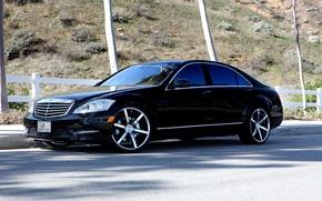 Картинка Мерседес, Mercedes, S-classe, W221