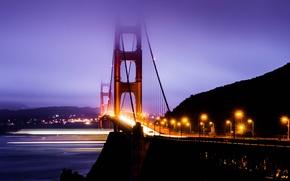 Картинка Калифорния, Сан-Франциско, Золотые Ворота, USA, США, Golden Gate Bridge, California, San Francisco