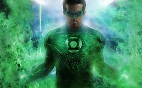 Обои dc comics, hero, green lantern, comics