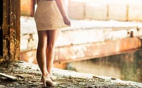 Картинка девушка, ножки, каблучки